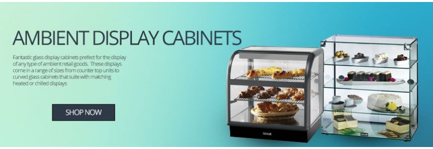 Ambient Food Display Cabinets