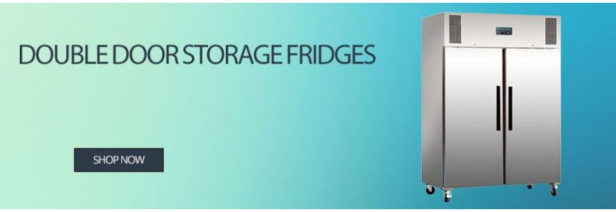 Double Door Storage Fridges
