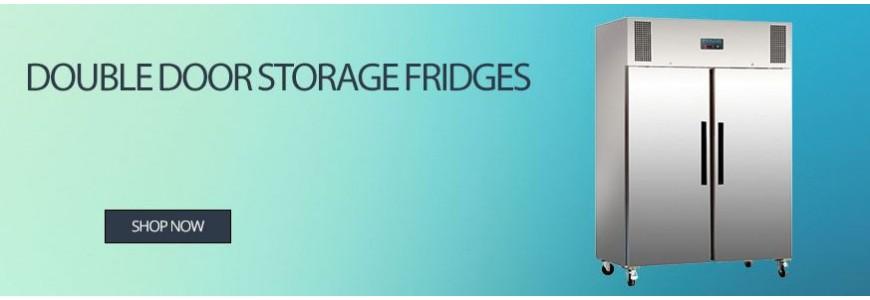 Double Door Storage Fridges
