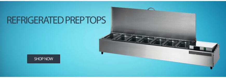 Refrigerated Prep Tops