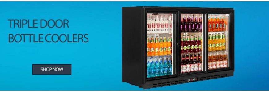 Triple Door Bottle Coolers