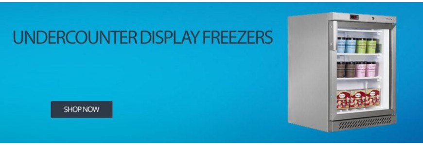 Undercounter Display Freezers
