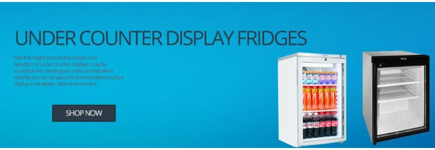 Undercounter Display Fridges