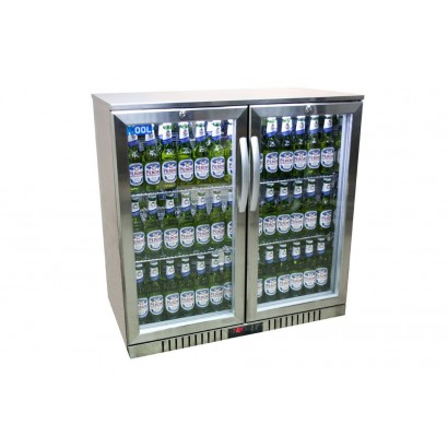 Kool NRLST2-IC210A Stainless Steel Hinged Double Door Bottle Cooler