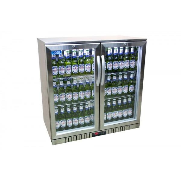 Kool NRLST2-IC210A Stainless Steel Hinged Double Door Bottle Cooler