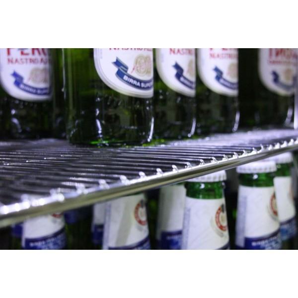 Kool NRLST2-IC320A Stainless Steel Hinged Triple Door Bottle Cooler
