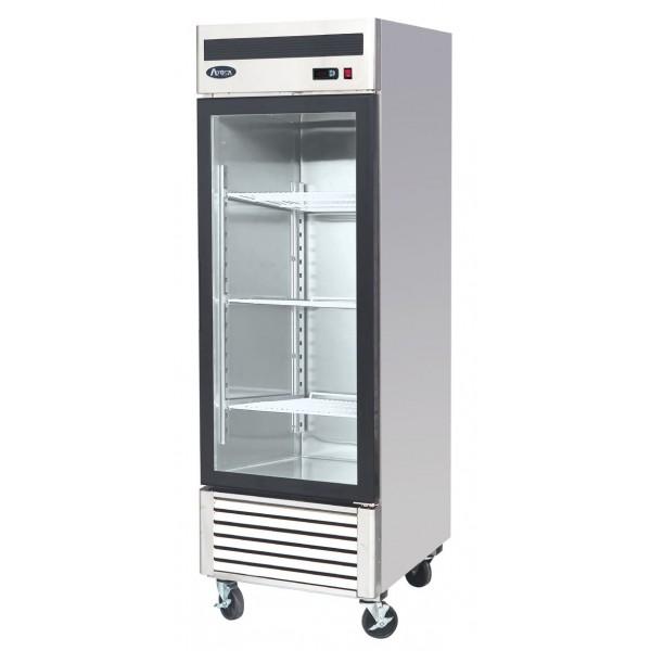 Atosa MCF8701 Single Glass Door Display Freezer