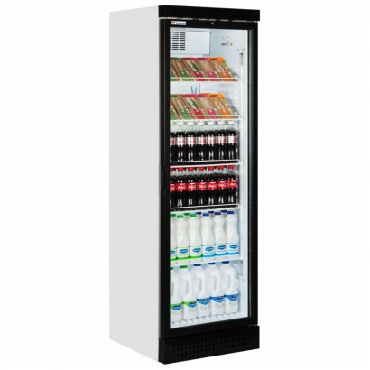 Caravell CBC382 Single Glass Door Merchandiser