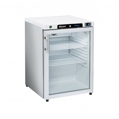 Blizzard HG200SS Glass Door Refrigerator