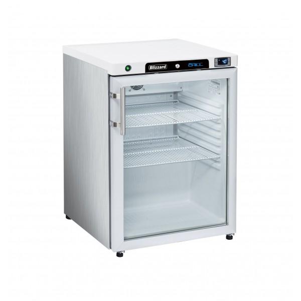 Blizzard HG200SS Glass Door Refrigerator