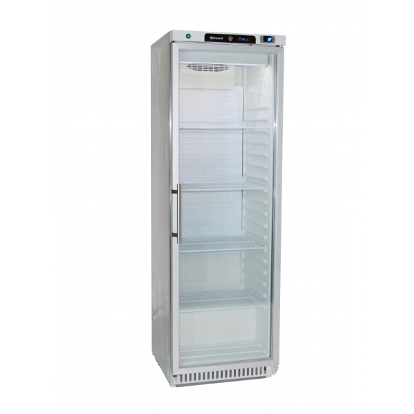 Blizzard HG400SS Glass Door Refrigerator