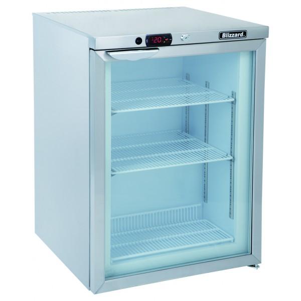 Blizzard UCF140CR 0.6m Glass Door Undercounter Freezer