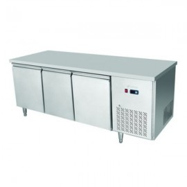 Atosa EPF3432 Three Door Table Fridge