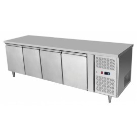 Atosa EPF3442 Four Door Table Fridge