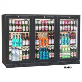 Blizzard BAR3 Triple Door Bottle Cooler