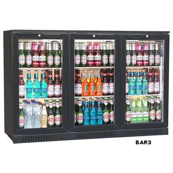 Blizzard BAR3 Triple Door Bottle Cooler