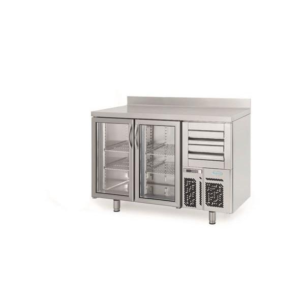Infrico FMPP1500CR 1.5m Glass Door Bar Counter