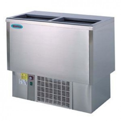 Infrico EFP2000SS 2m Stainless Steel Chest Fridge