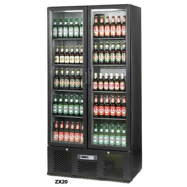 Infrico ZX20 Upright Double Door Bottle Cooler