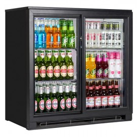 Tefcold BA20S 0.9m Double Sliding Door Bottle Cooler