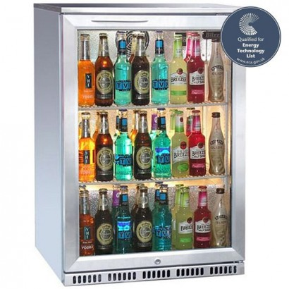 Blizzard BAR1SS Stainless Steel Single Door Bottle Cooler