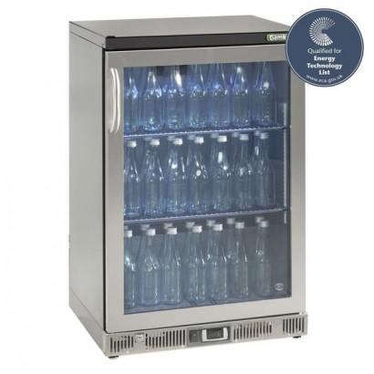 Gamko MG2-150GCS Single Door Stainless Steel Bottle Cooler