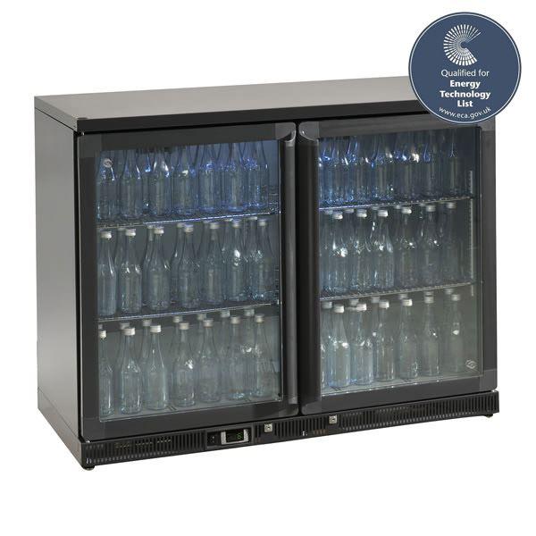 Gamko MG2-275SD 1.2m Wide Double Sliding Door Bottle Cooler