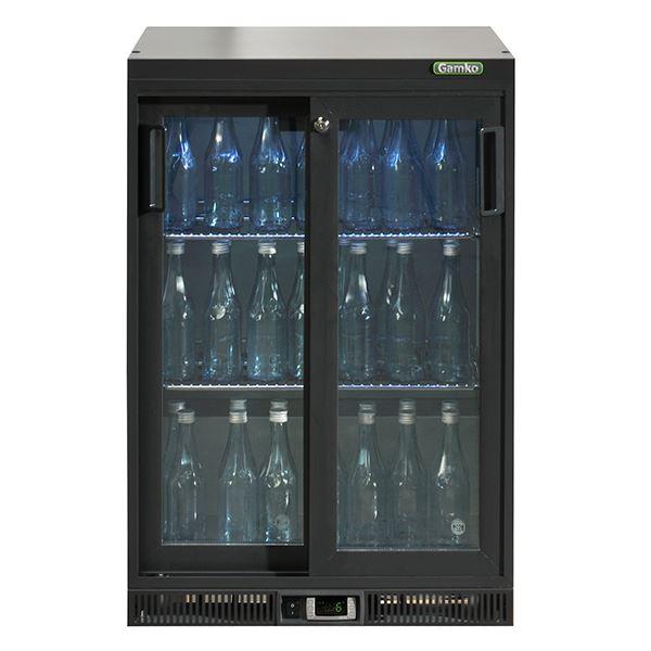 Gamko MG2-150SD 0.6m Wide Double Sliding Door Bottle Cooler