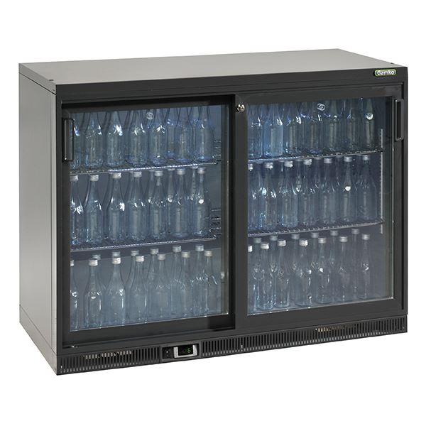 Gamko MG2-275G 1.2m Wide Double Door Bottle Cooler