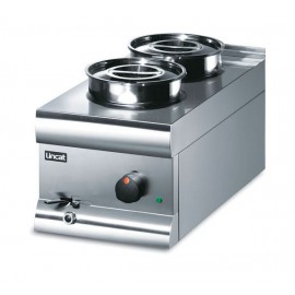 Lincat Silverlink BS3W  2 Pot Wet Heat Bain Marie