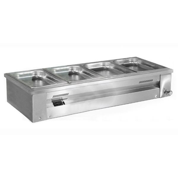 Inomak MA614 1.4m Counter Top Gastronorm Bain Marie
