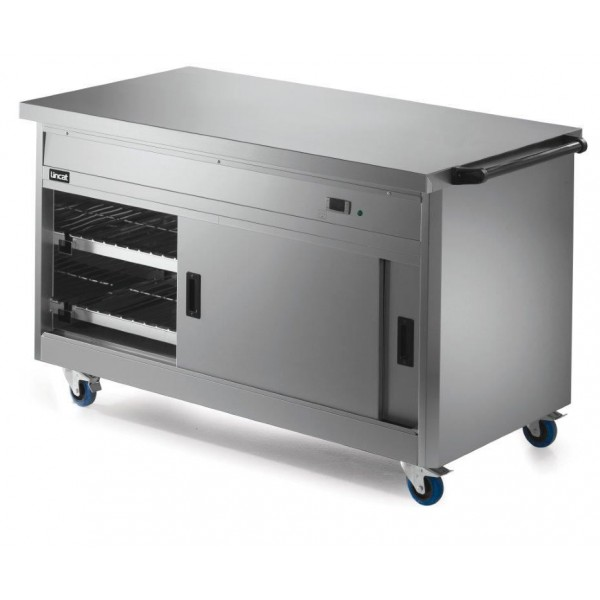Lincat P8P4 1.5m Panther 800 Series Hot Cupboard with Plain Top