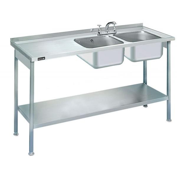 Lincat L884 1.5m Double Catering Sink