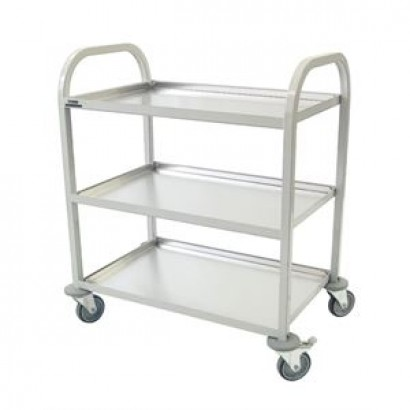 Craven CE981 Enamelled 3 Tier Clearing Trolley