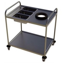 Craven DM344 Two Tier Clearing Trolley