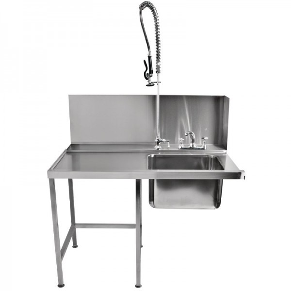 Classeq T11SENL Left Hand Pass-Through Table with Spray Mixer
