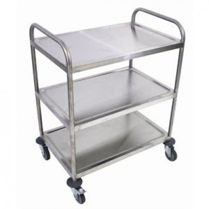 Craven P479 Stainless Steel 3 Tier Clearing Trolley