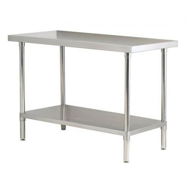 Empire Stainless Steel 1800mm Centre Table