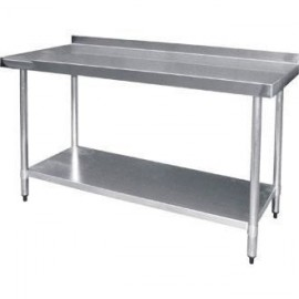 Empire Stainless Steel 1500mm Wall Table
