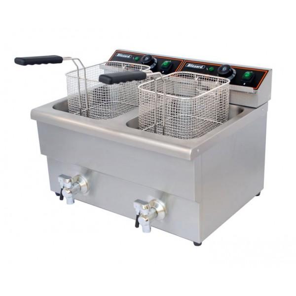 Blizzard BF8+8 Twin Tank Electric Fryer