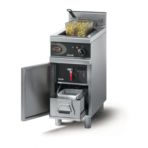 Lincat OG7115/F/N Opus 700 Vortech High-Efficiency Natural Gas Fryer with Built-in Filtration