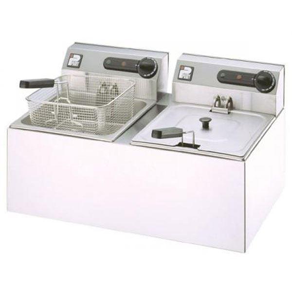 Parry 2001 Countertop Double Electric Fryer