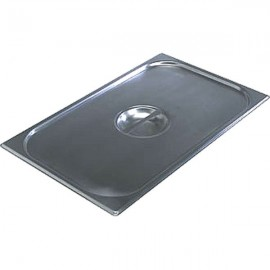 Vogue Stainless Steel 2/1 Gastronorm Pan Lid