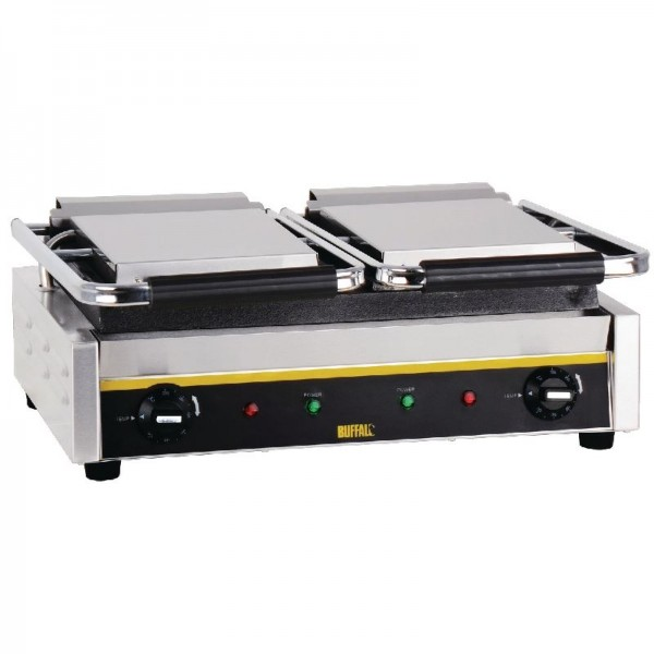 Buffalo Bistro 0.6m Double Flat Contact Grill