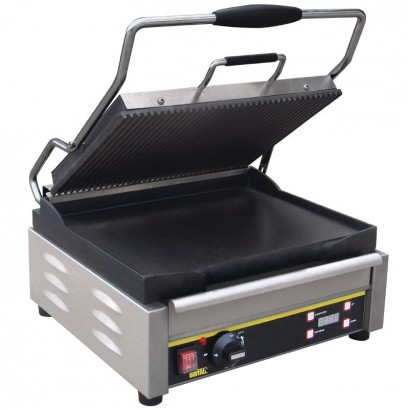 Buffalo L530 Ribbed/Flat Large Contact Grill