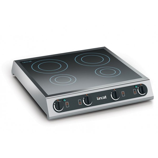 Lincat IH42 Table Top Four Zone Induction Hob