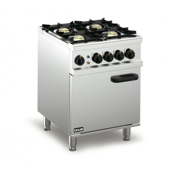 Lincat OD7006 0.6m Opus 700 Dual Fuel 4 Burner Oven Range