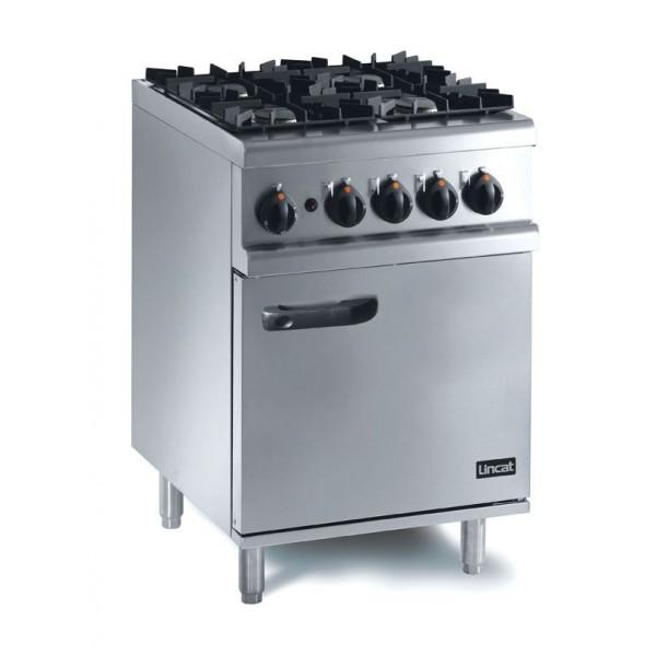 Lincat OG7001/RHD 0.6m Opus 700 4 Burner Gas Oven Range