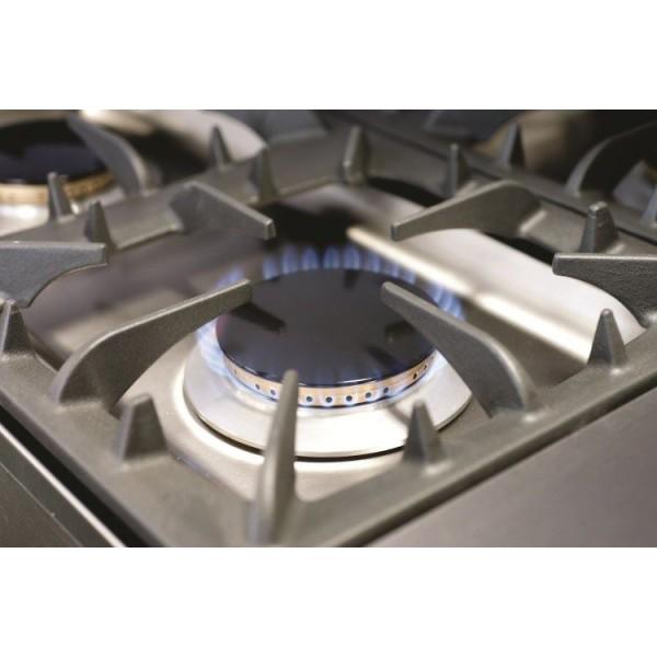 Falcon G3101 Dual Fuel 6 Burner Oven Range