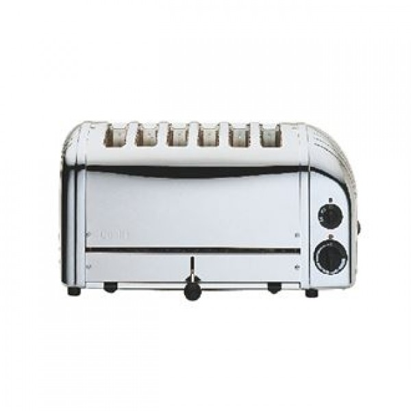 Dualit 6 Slice Stainless Steel Vario Toaster